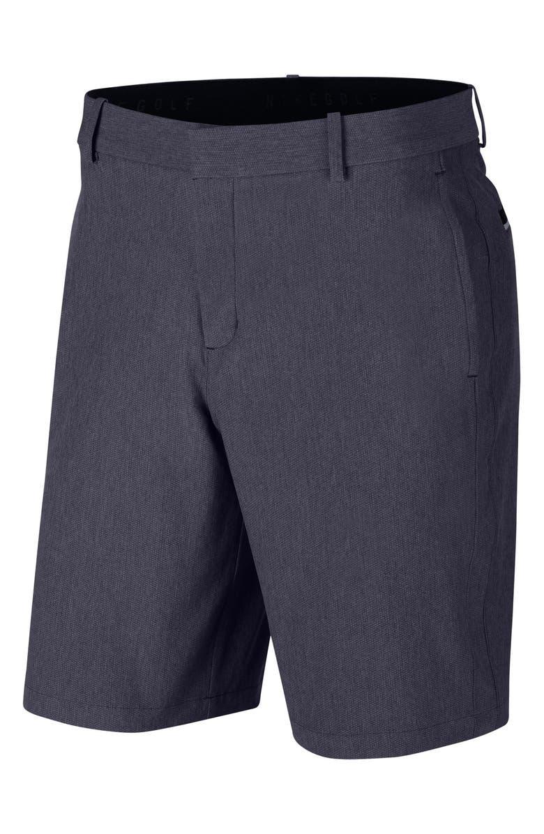 NIKE Flex Standard Fit Hybrid Golf Shorts, Main, color, GRIDIRON/ PURE/ BLACK
