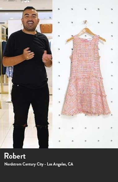 Tweed Tiered Minidress, sales video thumbnail