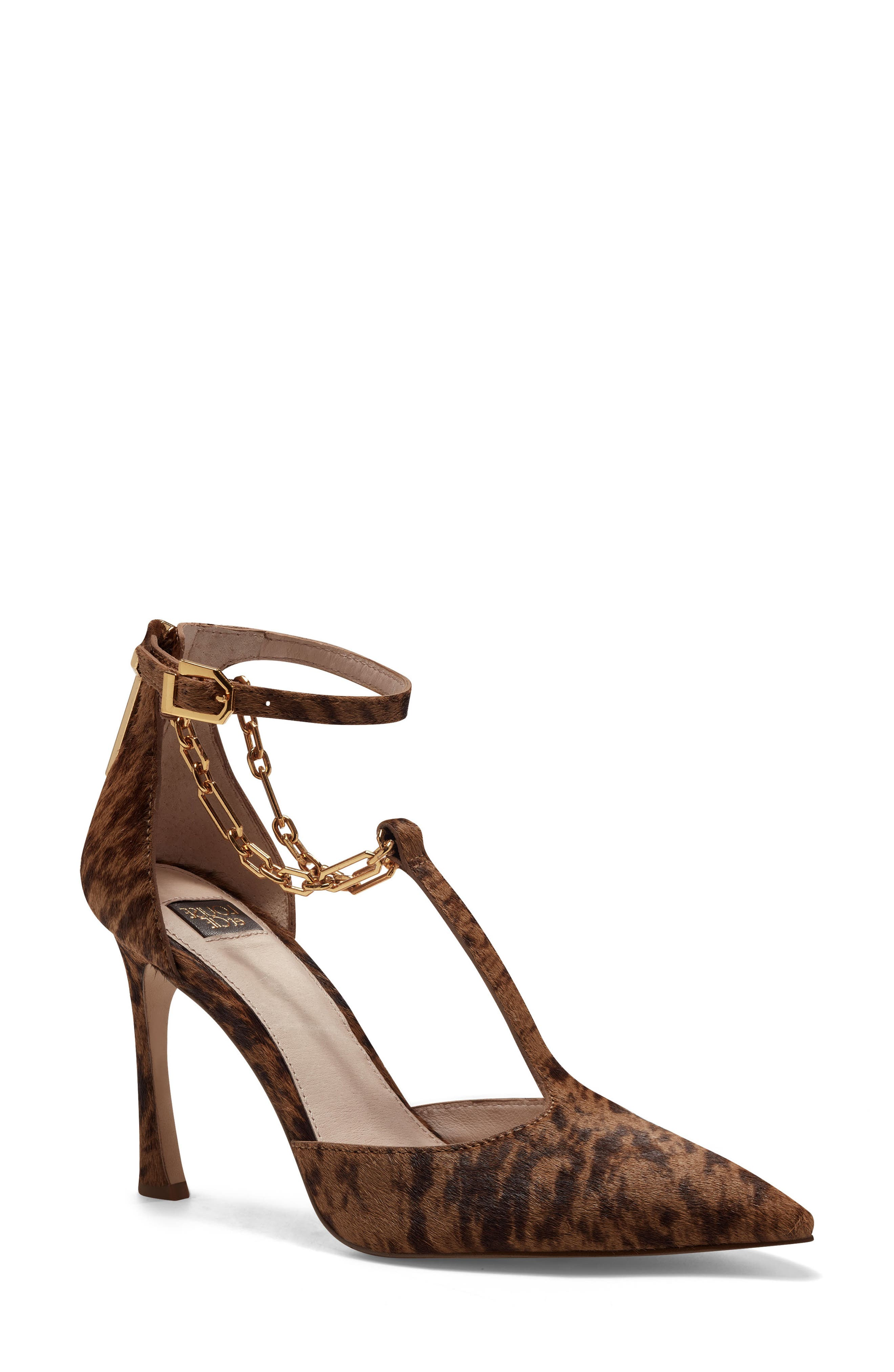 Taite3 Ankle Strap Pointed Toe Pump