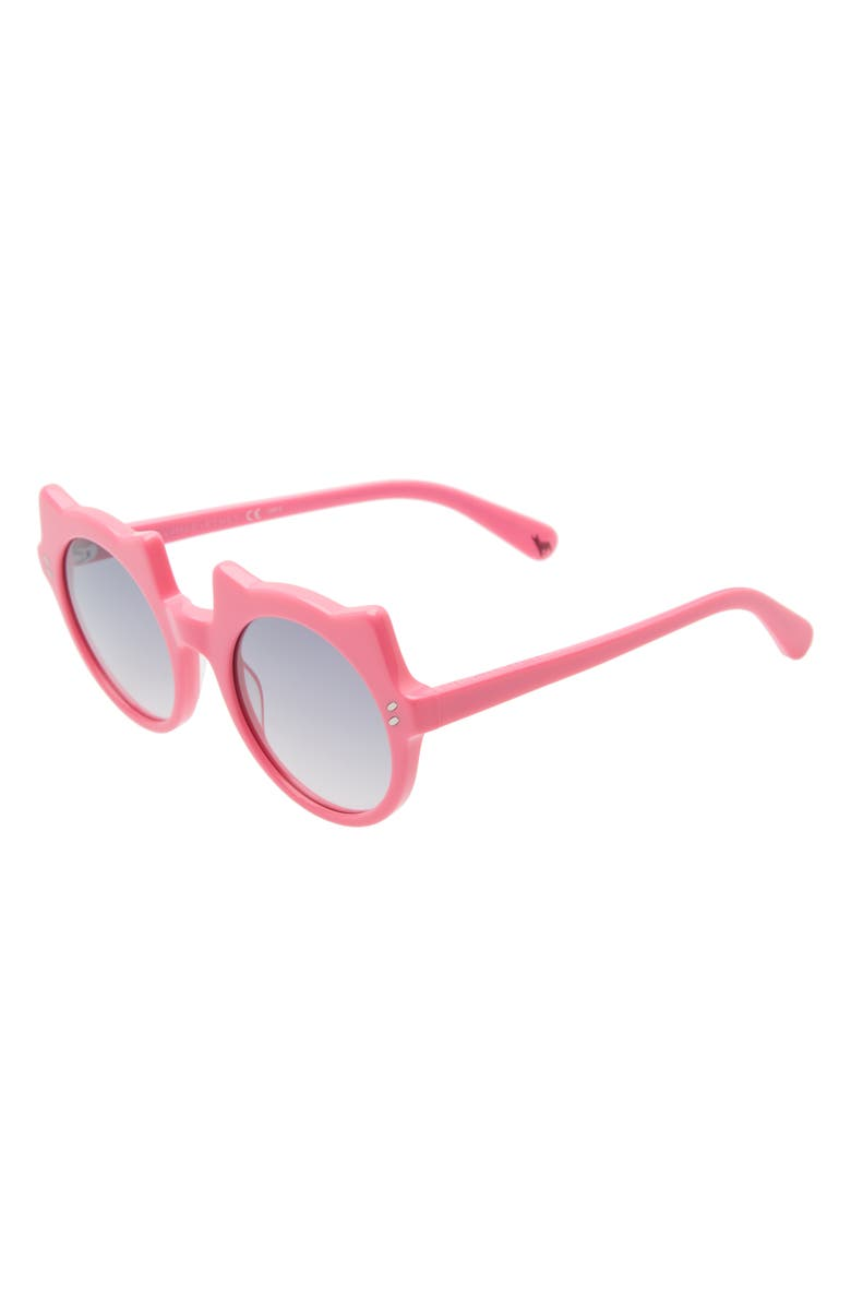 STELLA MCCARTNEY KIDS 48mm Cat Sunglasses, Main, color, FUCHSIA