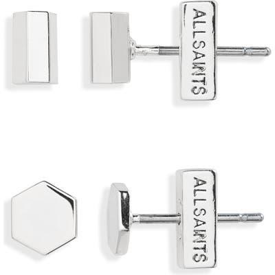 Allsaints 2-Pack Stud Earrings (Nordstrom Exclusive)