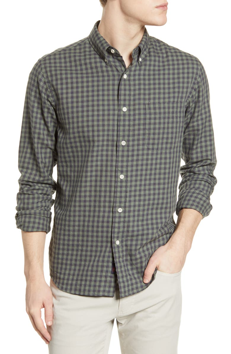 FAHERTY Everyday Check Button-Down Shirt, Main, color, 340