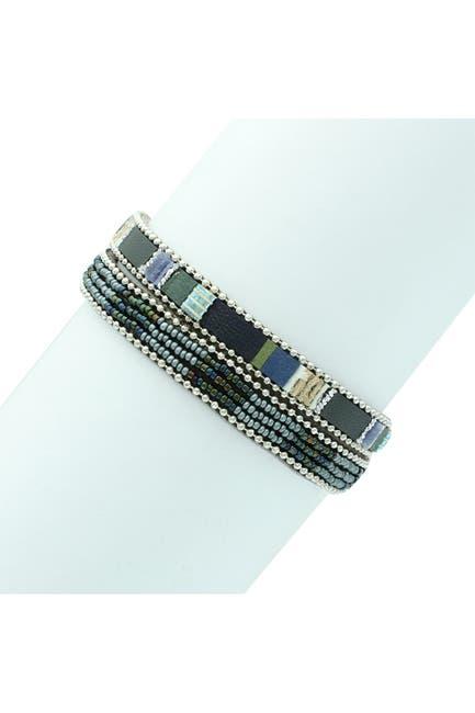 Image of Olivia Welles Sadie Magnetic Beaded Wrap Bracelet