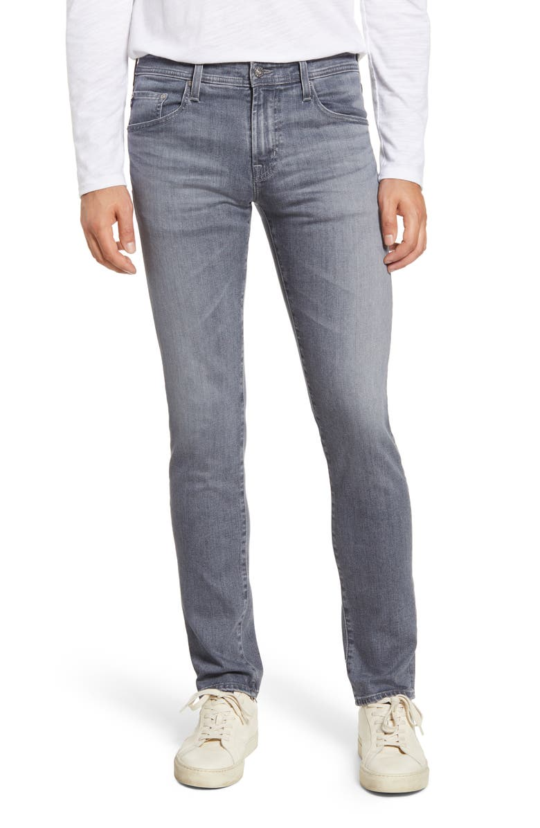 AG Tellis Slim Fit Jeans, Main, color, COURIER