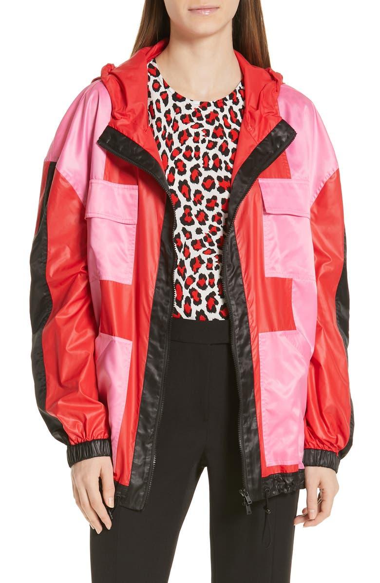 ROBERT RODRIGUEZ Celeste Colorblock Jacket, Main, color, 600