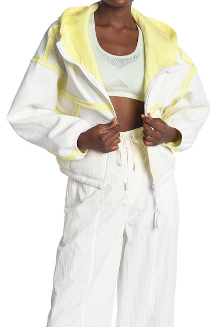 Image of Free People FP Movement Kona Reversible Scuba Hooded Jacket