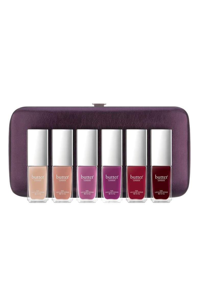 BUTTER LONDON Playing Favorites Patent Shine 10X Nail Lacquer Set, Main, color, 650