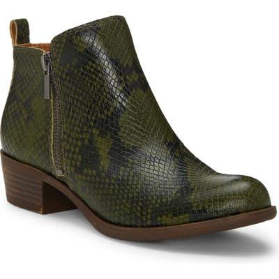 Lucky Brand Basel Bootie, Green
