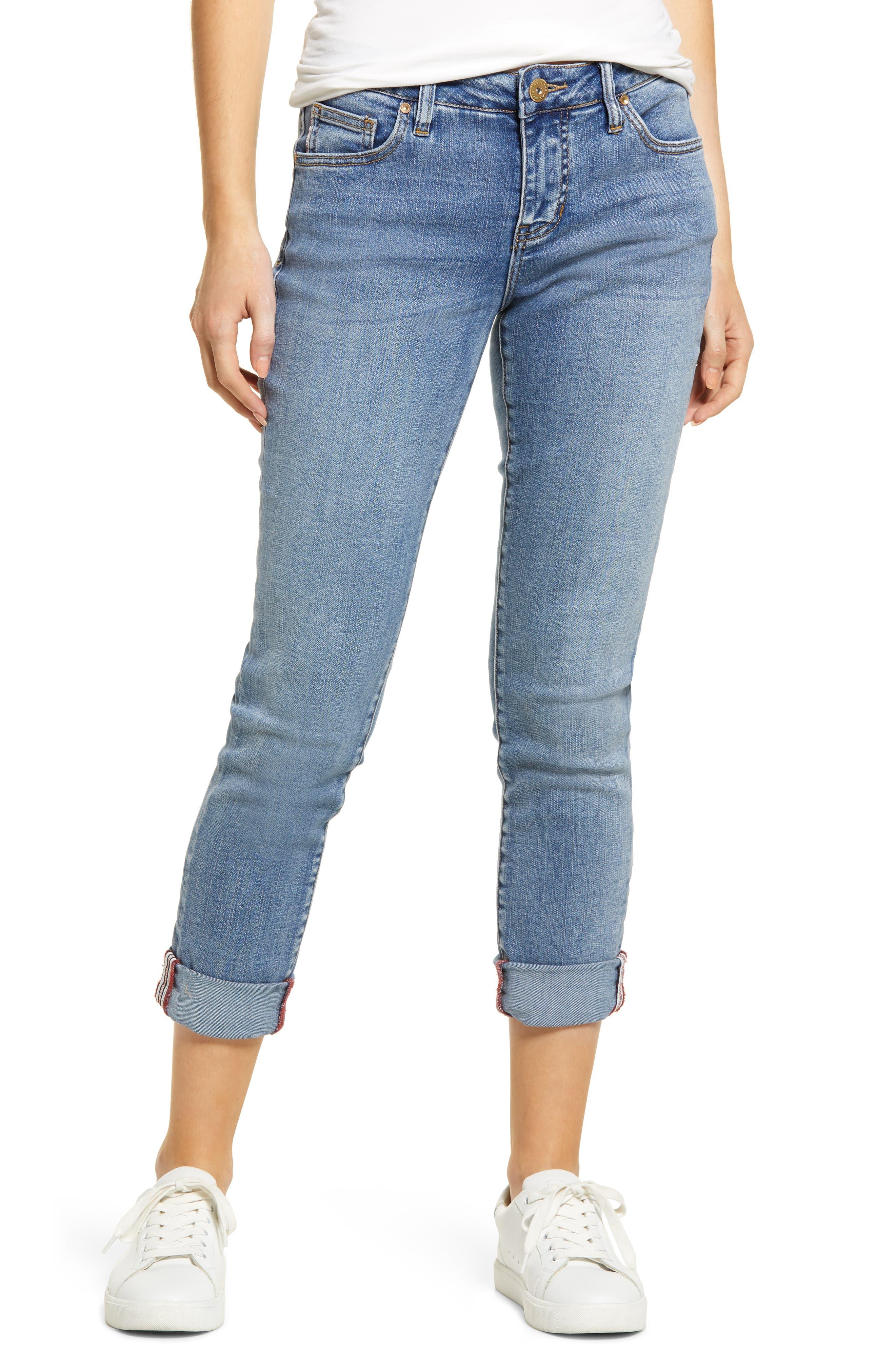 Carter High Waist Girlfriend Jeans