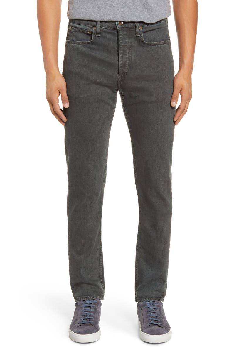 RAG & BONE Fit 2 Slim Fit Jeans, Main, color, FATIGUE GREY