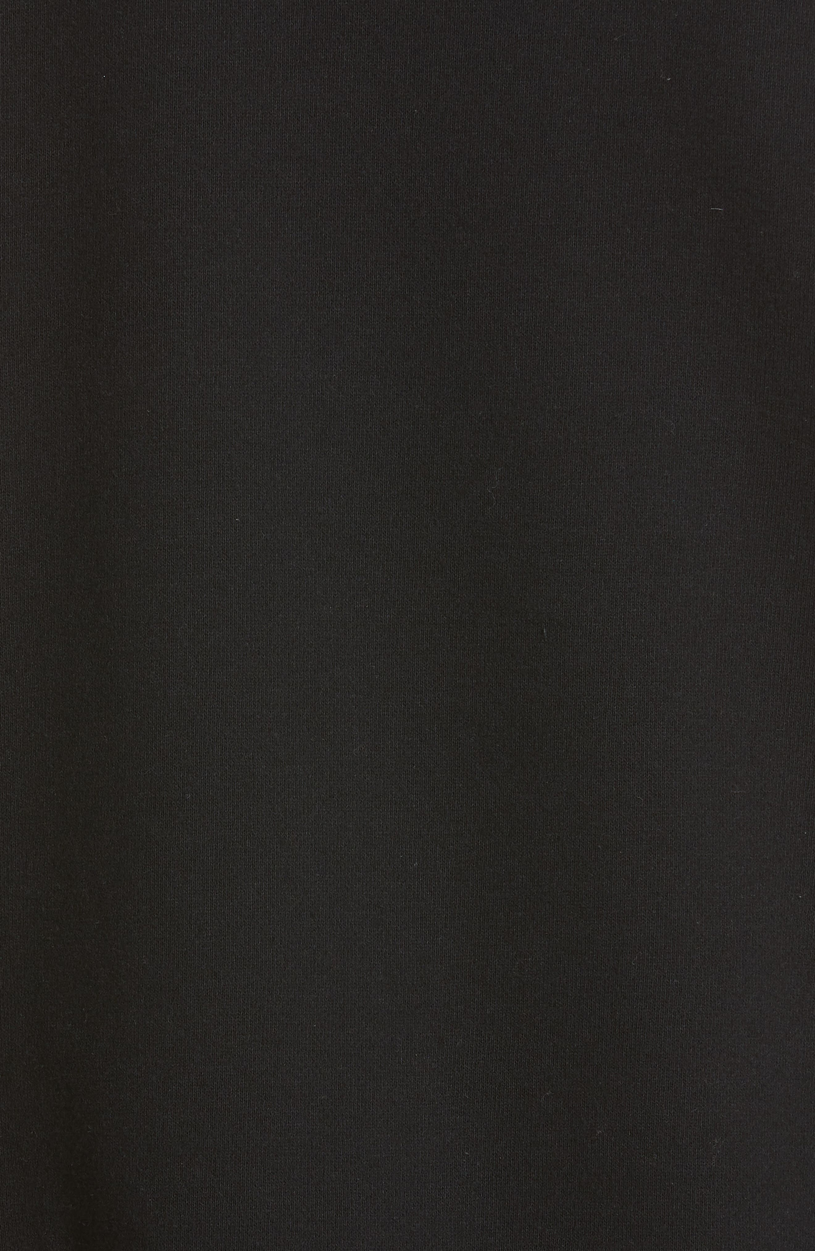 ,                             'Jaws' Graphic Sweatshirt,                             Alternate thumbnail 6, color,                             BLACK