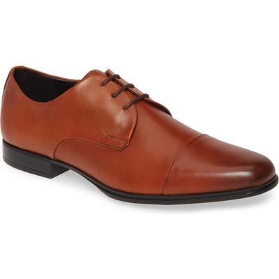 Calvin Klein Dominick Cap Toe Derby, Brown