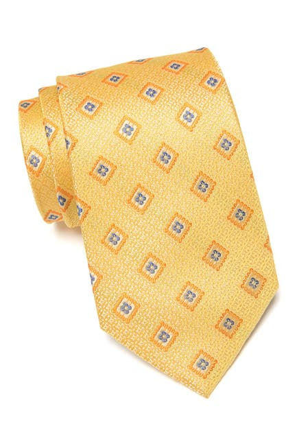 Image of NORDSTROM MEN'S SHOP Carnen Neat Floral Diamond Silk Tie