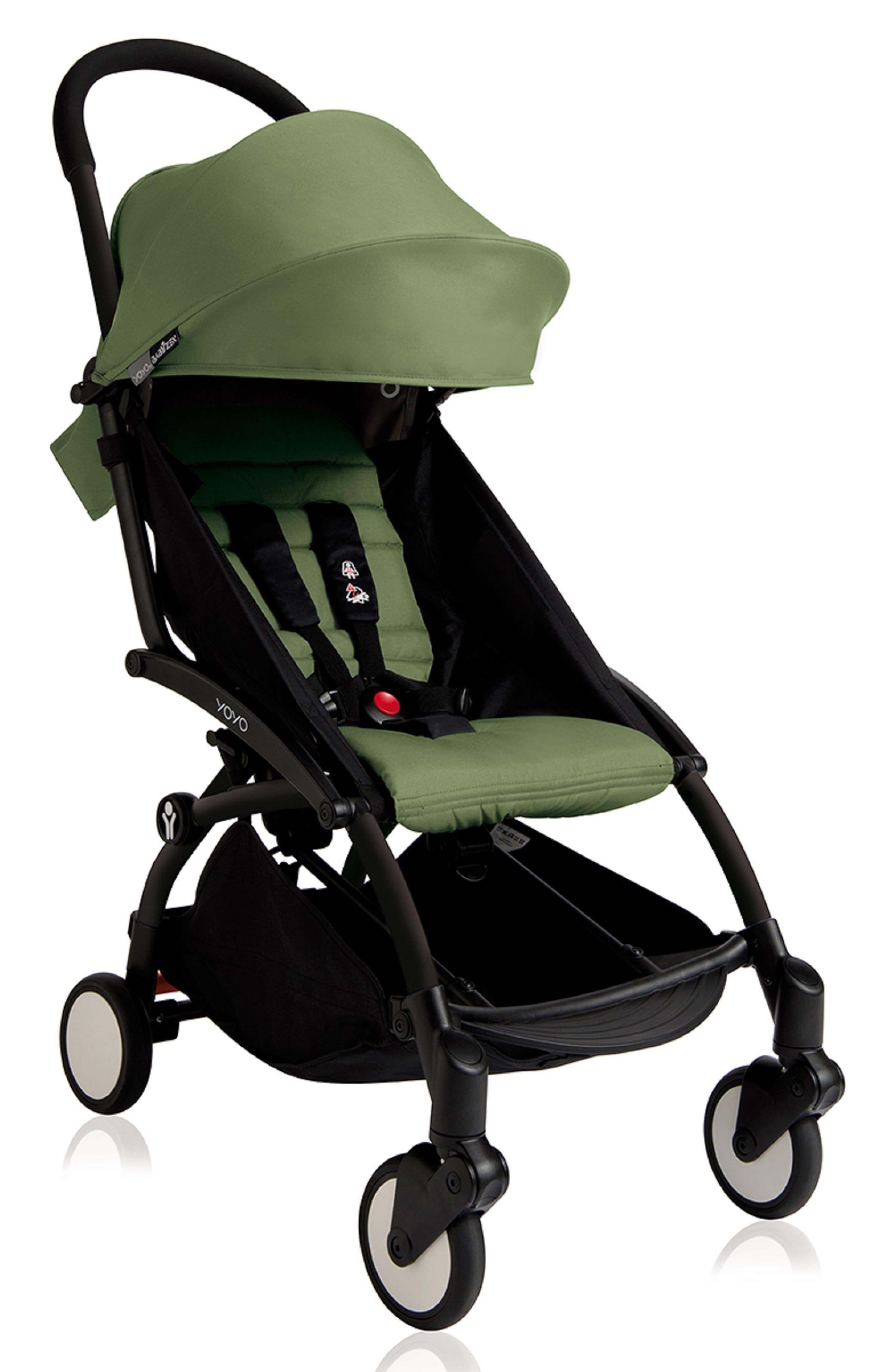 Infant Babyzen(TM) Yoyo Complete Stroller With Travel Bag Black Parasol  New Leg Rest Size One Size  Green