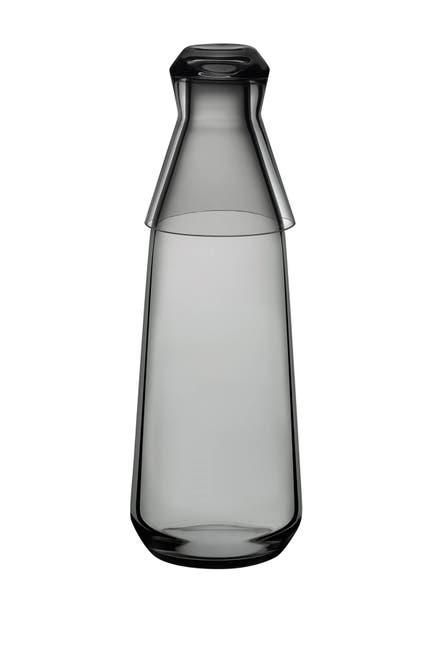 Image of Nude Glass Rhythm Water Carafe with Glass Smoke