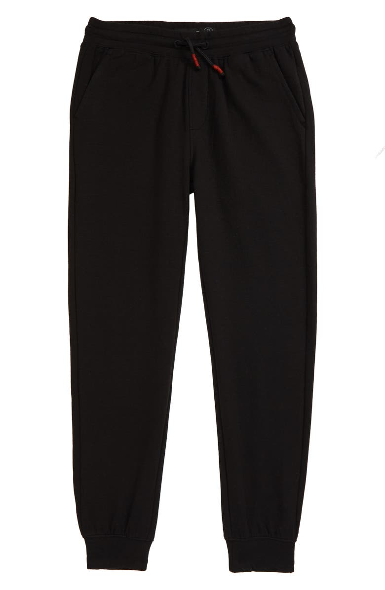 TREASURE & BOND Jogger Sweatpants, Main, color, BLACK