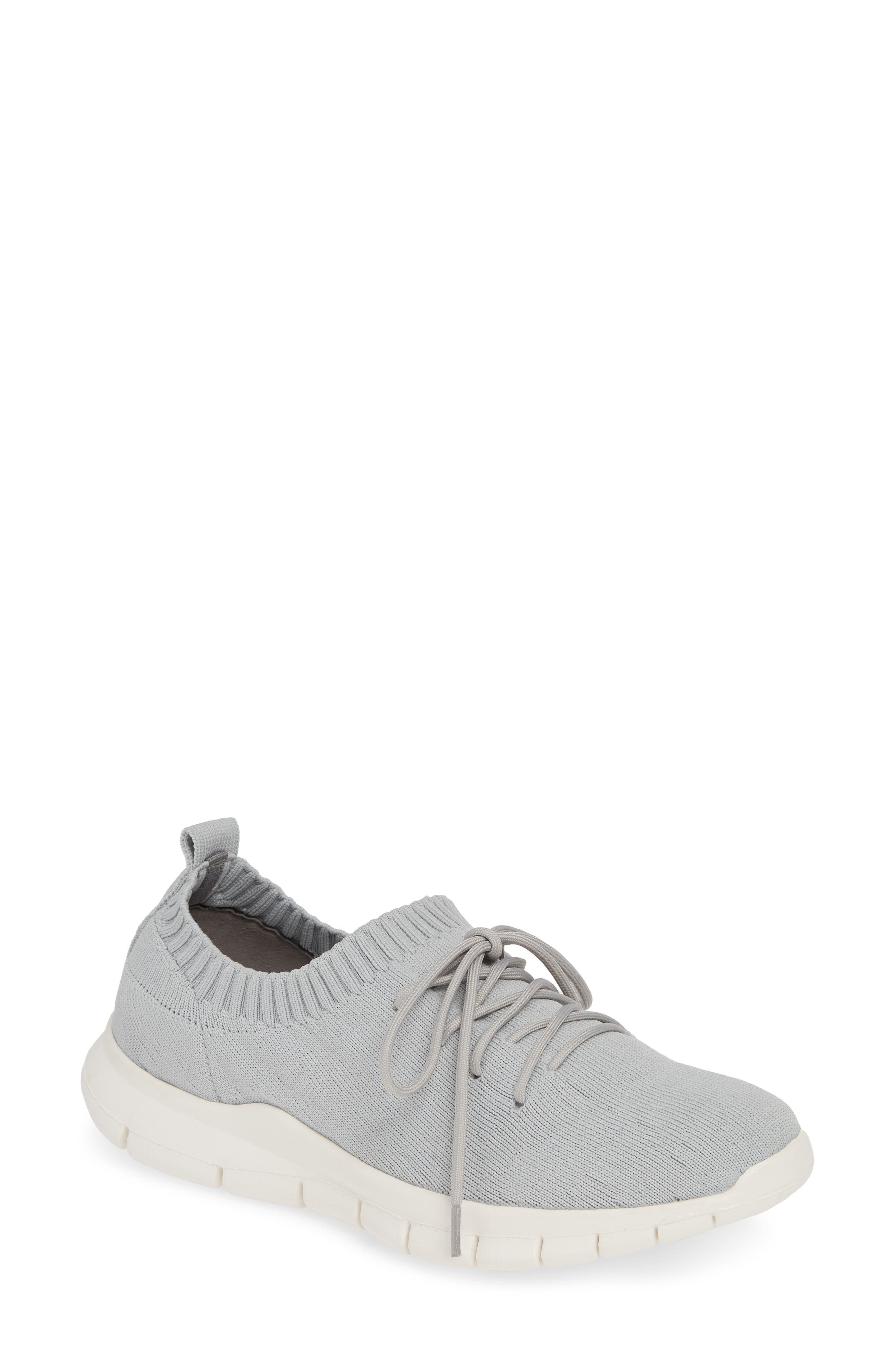 Bernie Mev Plush Sneaker, Grey