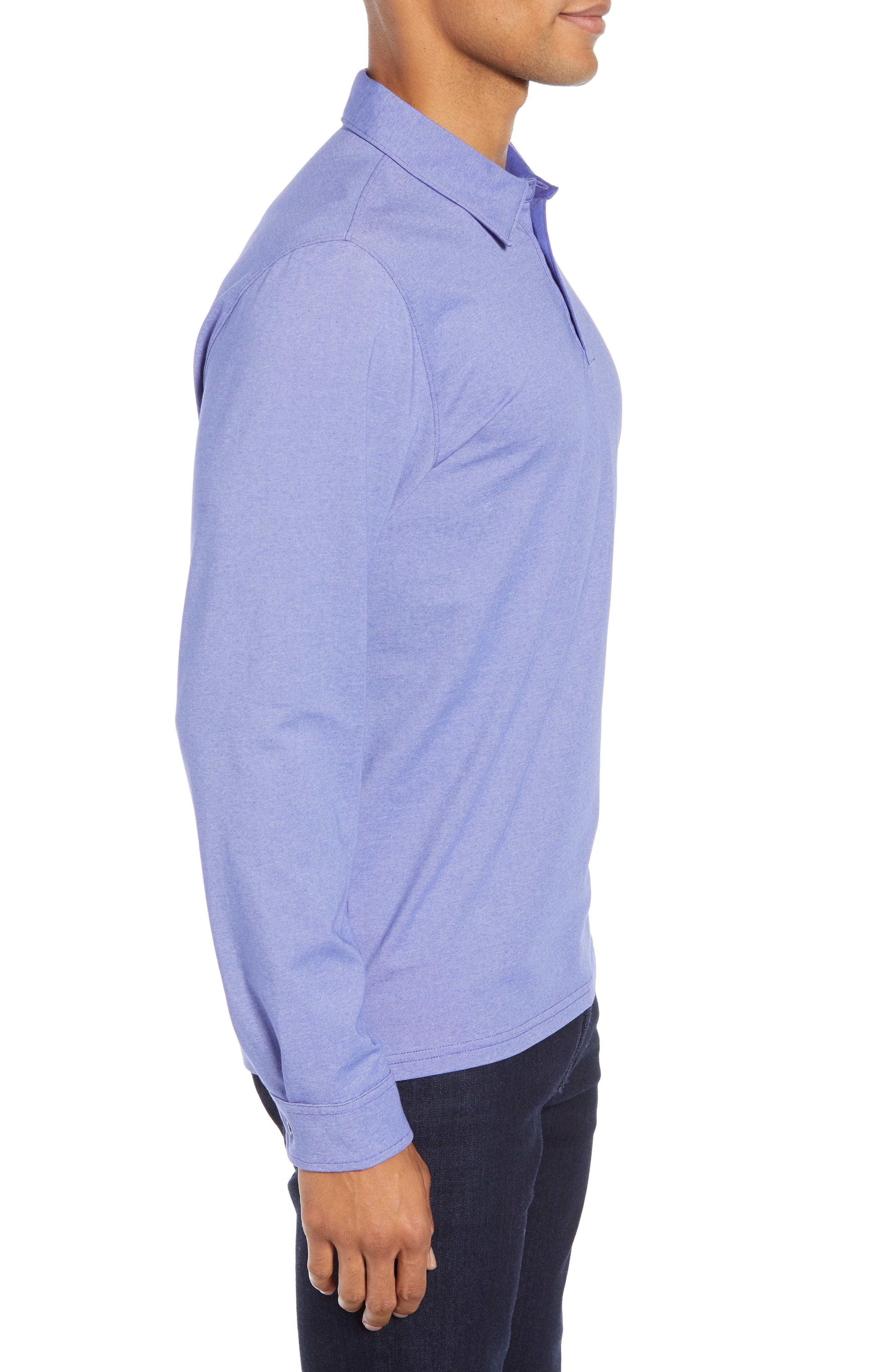 ,                             Benton Long Sleeve Polo,                             Alternate thumbnail 21, color,                             532