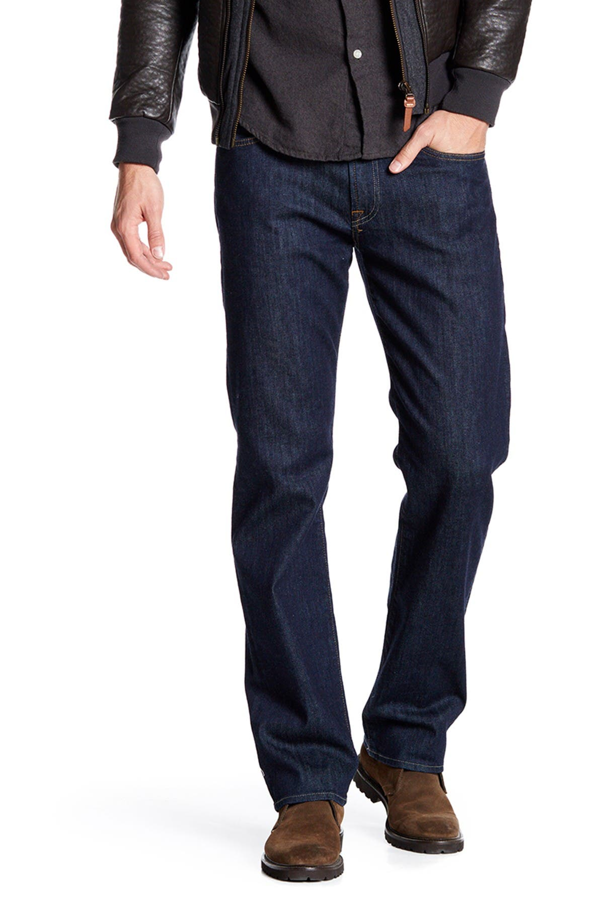 Image of 7 For All Mankind Carsen Easy Straight Jeans