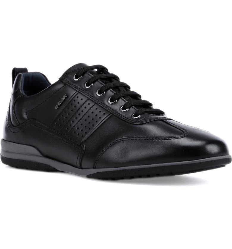 GEOX Timothy 6 Sneaker, Main, color, BLACK