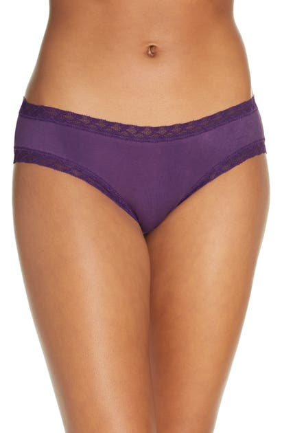 Natori Pants BLISS COTTON GIRL BRIEFS
