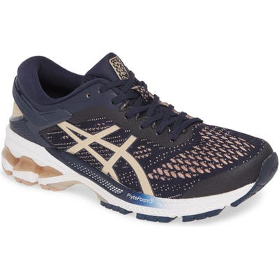 Asics Gel-Kayano 26 Running Shoe, Blue