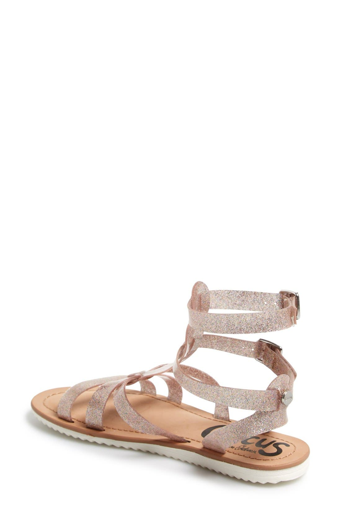 ,                             'Selma' Gladiator Sandal,                             Alternate thumbnail 19, color,                             220
