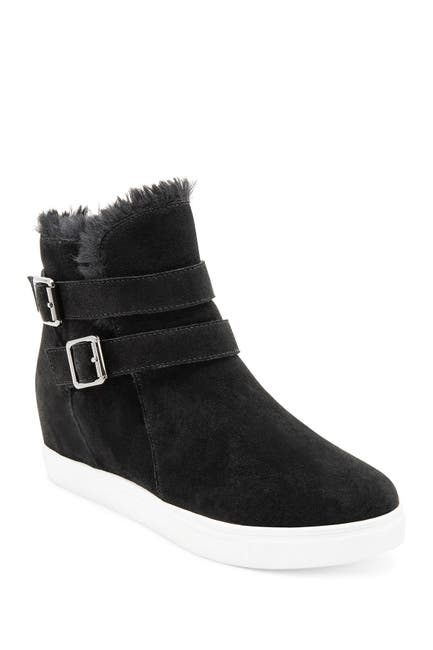 Image of Blondo Geneva Waterproof Faux Fur Lined Sneaker