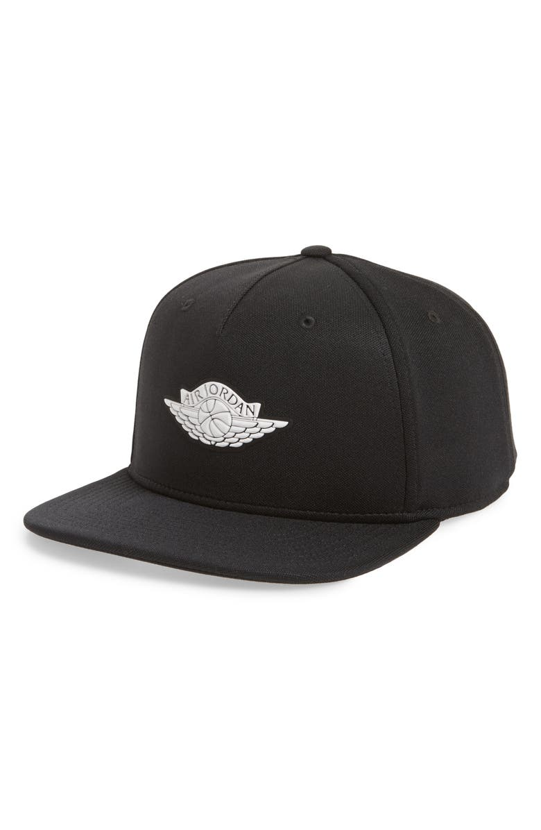 new product 6460a 6010a Jordan Wings Snapback Baseball Cap, Main, color, 010