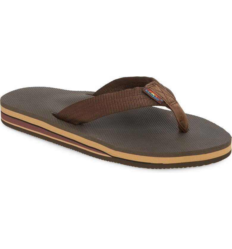 Rainbow Double Layer Classic Flip Flop by Rainbow®