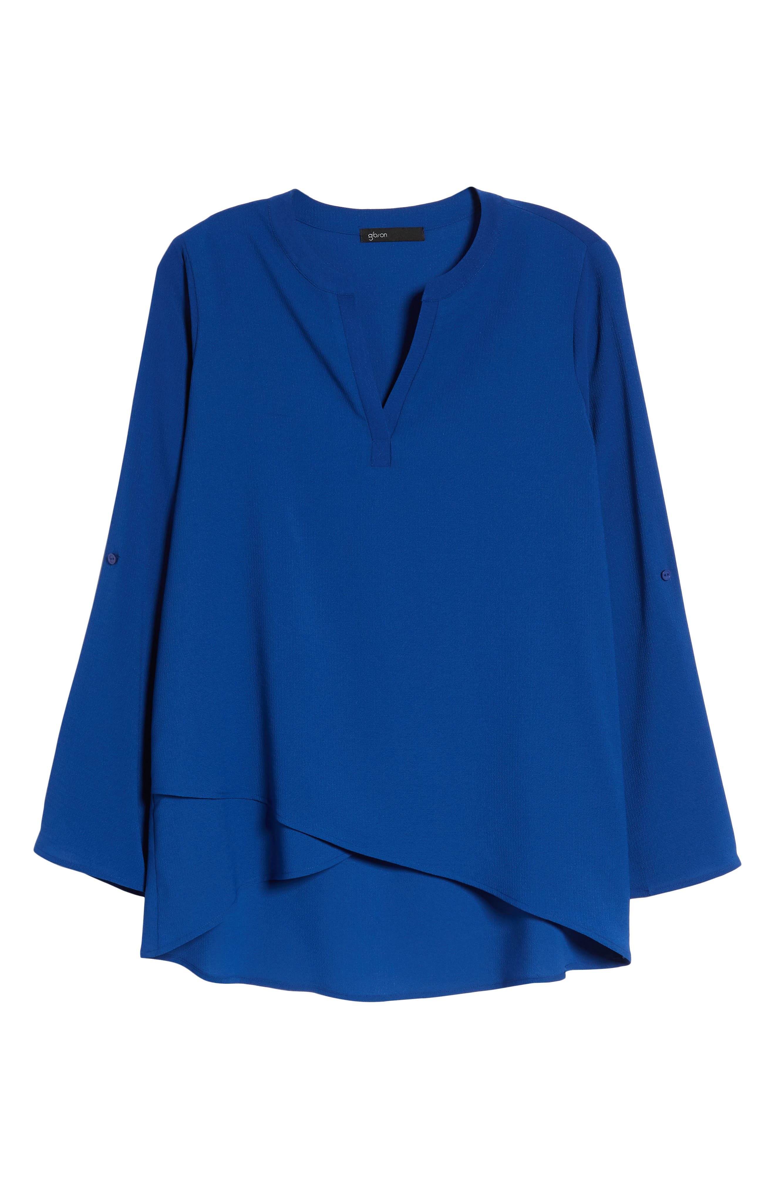 ,                             x International Women's Day Erin Cross Front Tunic Blouse,                             Alternate thumbnail 38, color,                             433