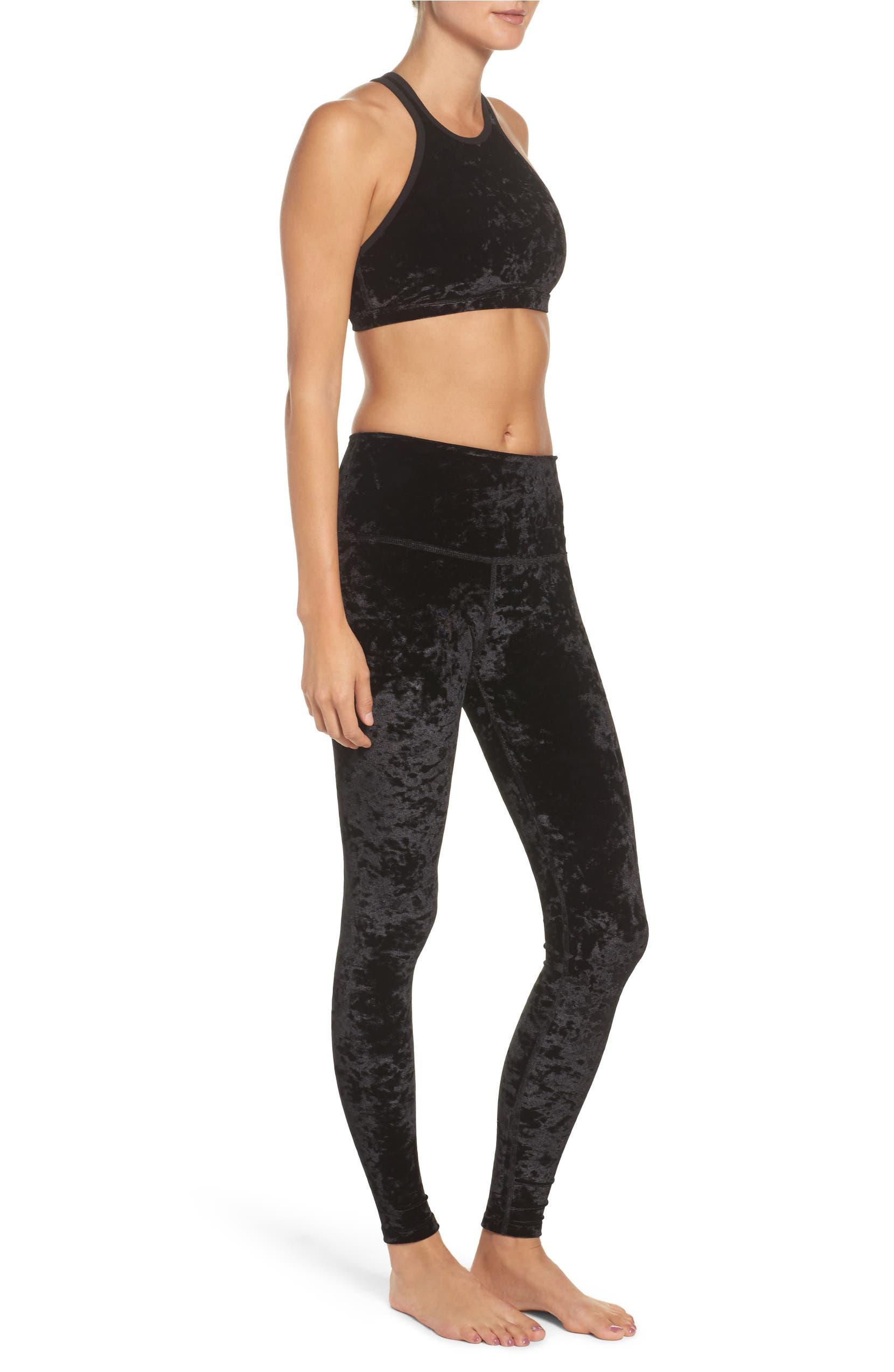 2d6db5dfdb Beyond Yoga Crushed Velvet Leggings | Nordstrom