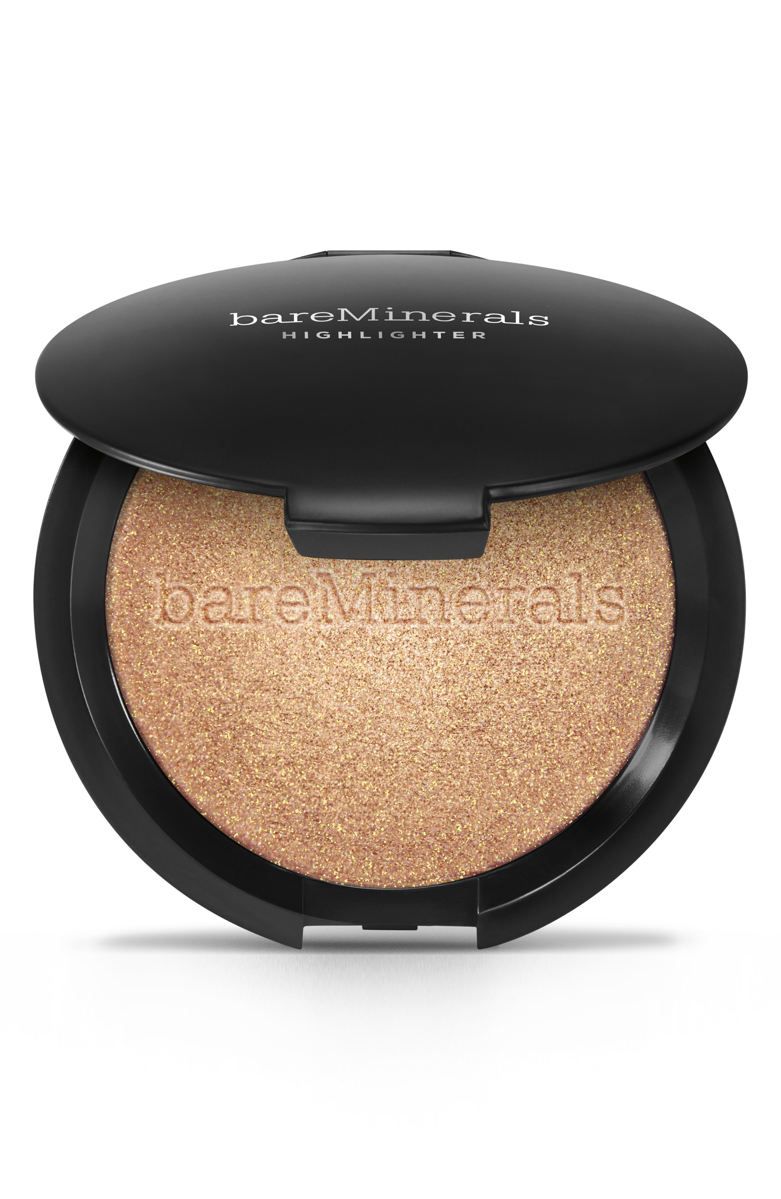 What it is: A mineral-based powder highlighter that gives skin a naturally luminous, dew-kissed glow while blurring pores and imperfections. What it does: This cleanly formulated powder provides long-lasting, lit-from-within luminosity with a photo-ready finish that won\\\'t crease, cake or crack. Research results: In an independent consumer study of 32 women:- 81% said skin looked smoother- 75% said skin was plump and full- 97% agreed it did not