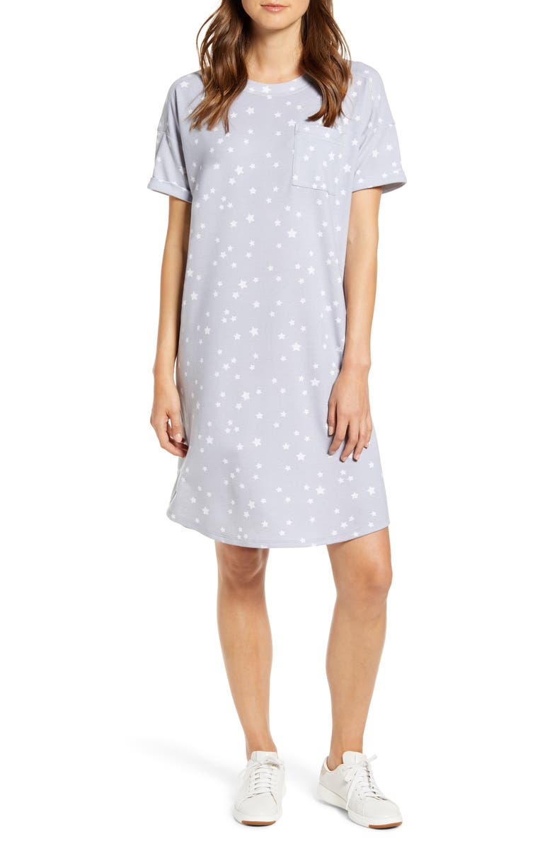 Short Sleeve Sweatshirt Dress by Caslon®