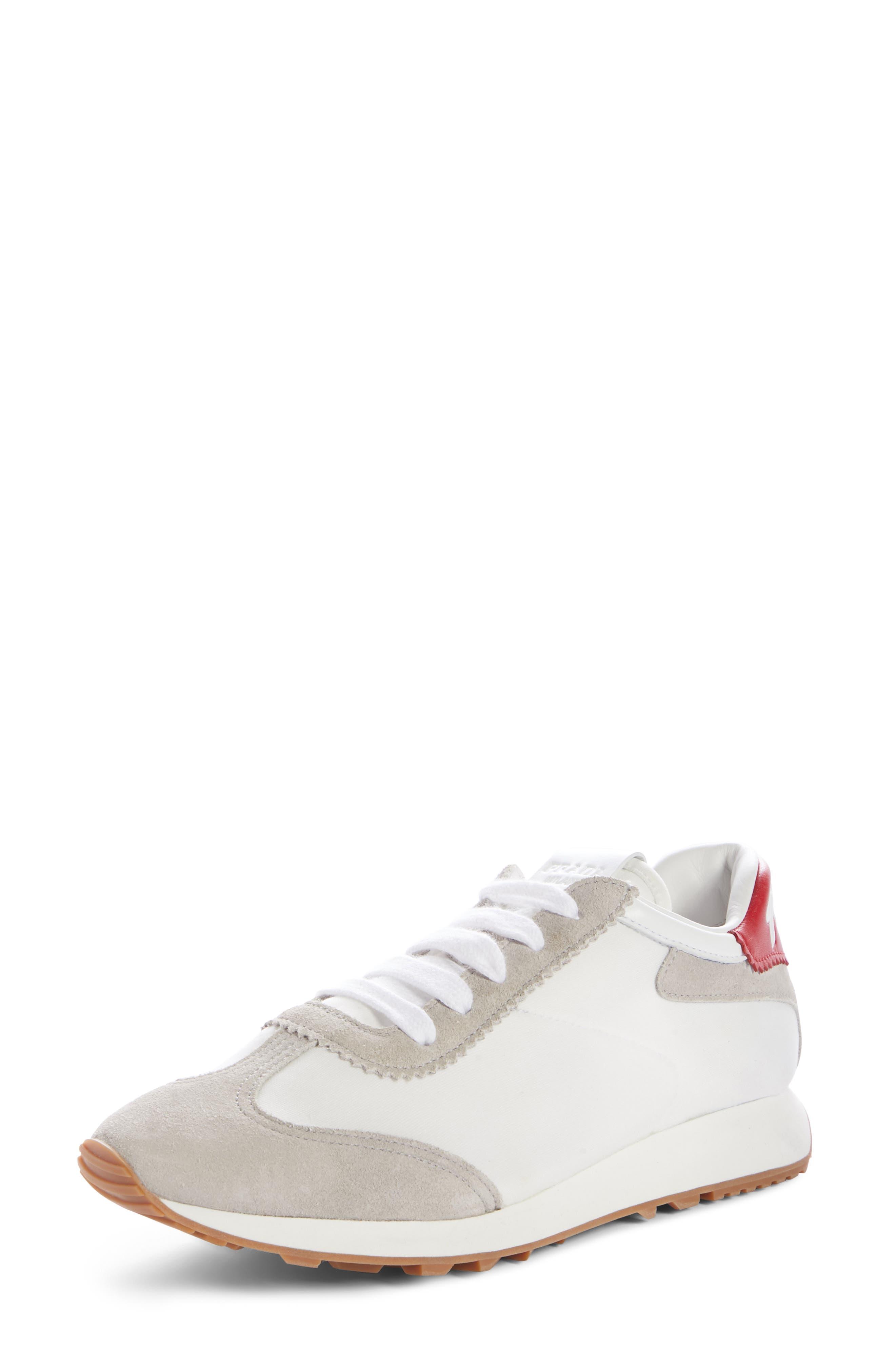 Prada Lace-Up Sneaker (Women) | Nordstrom