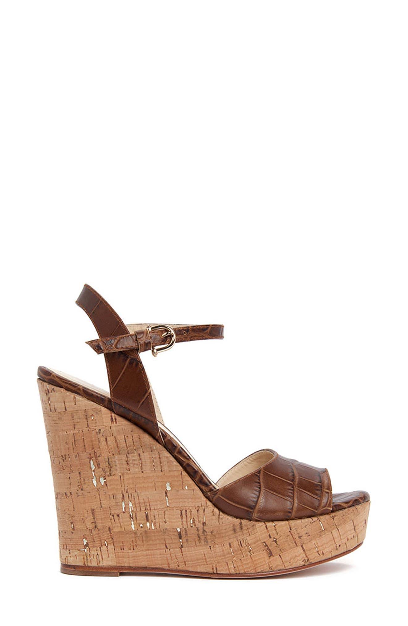 Genevieve Wedge Platform Sandal