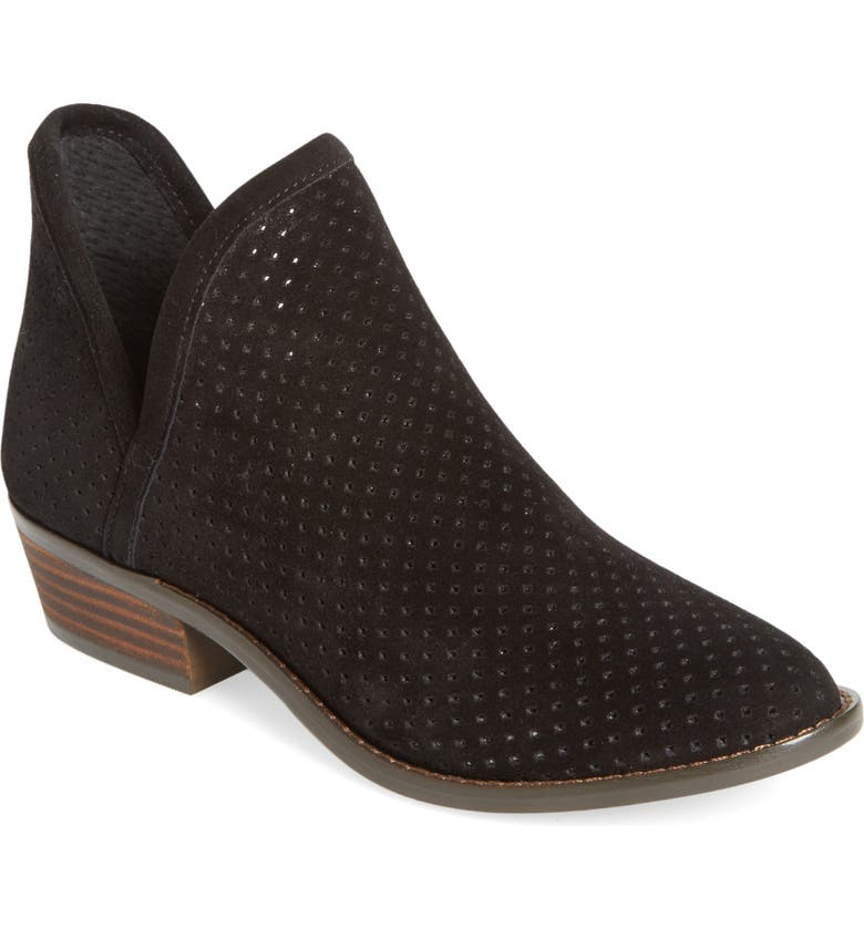 LUCKY BRAND Kambry Perforated Bootie, Main, color, 001