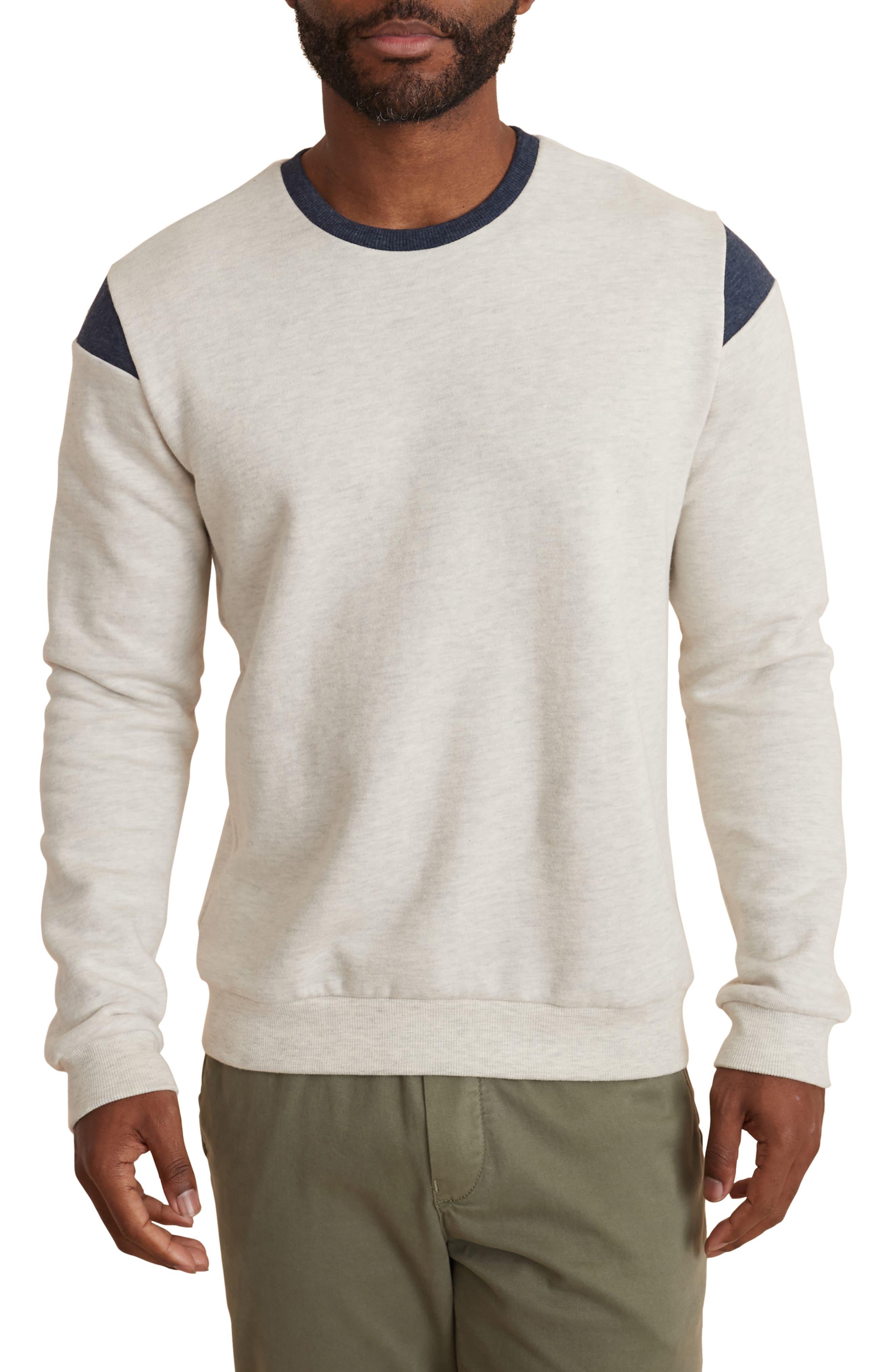 Pieced Crewneck Sweatshirt