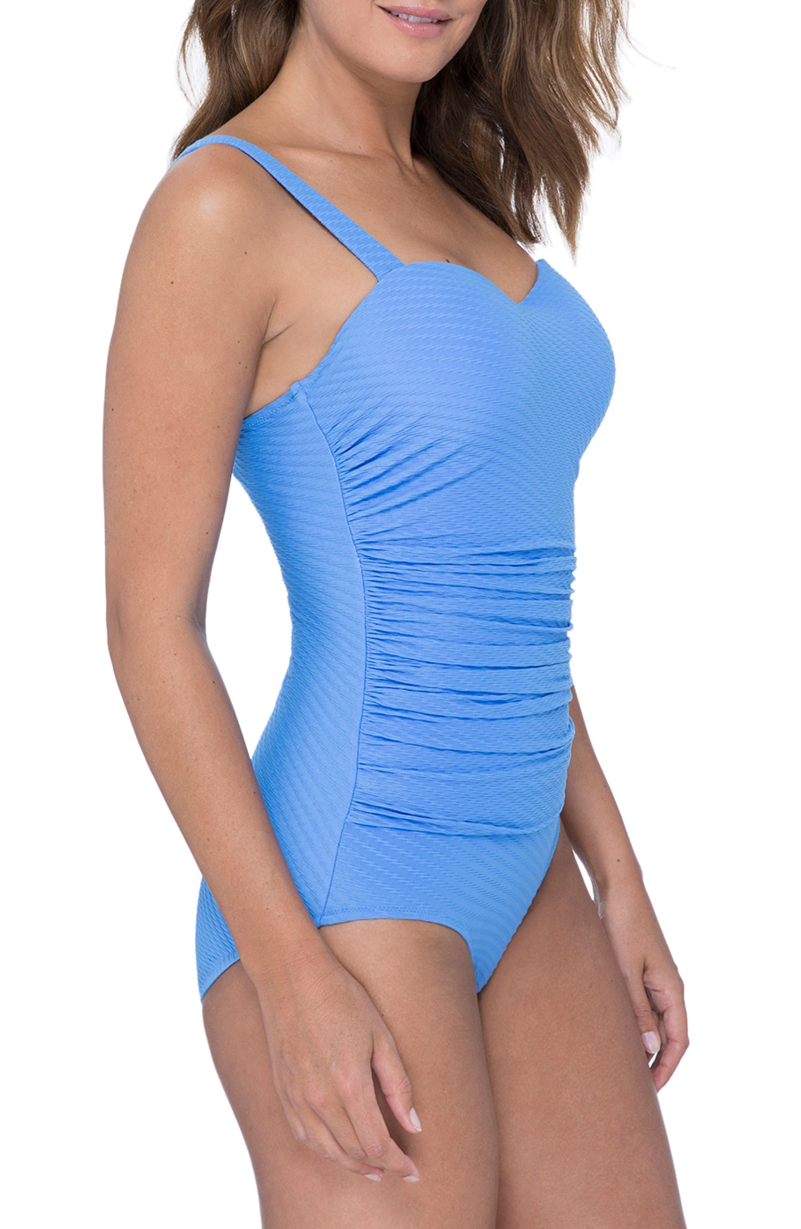 ,                             D-Cup Wide Strap One-Piece Swimsuit,                             Alternate thumbnail 11, color,                             435