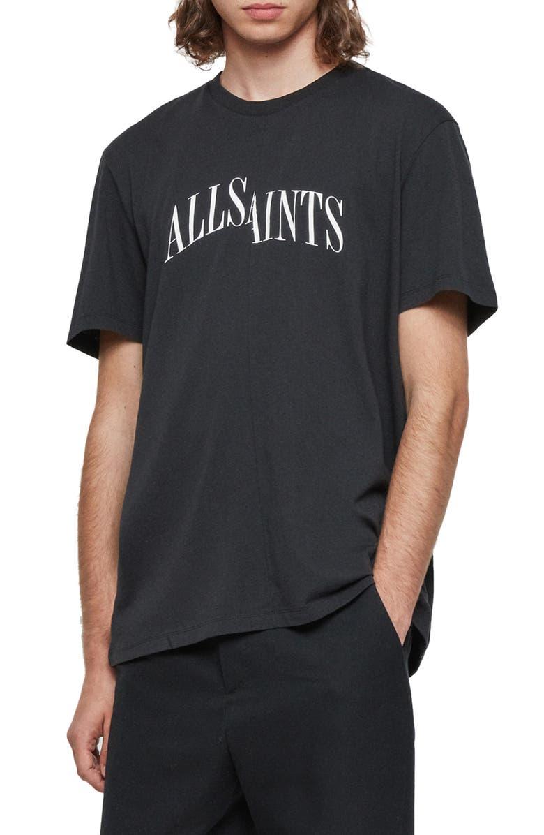 ALLSAINTS Dropout Graphic T-Shirt, Main, color, 003