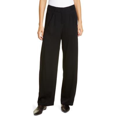 Zero + Maria Cornejo Circle Eco Drape Pants, Black