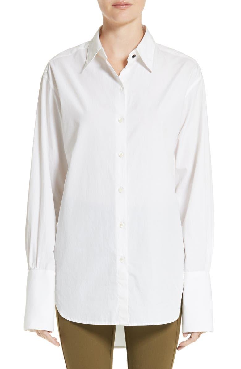 RAG & BONE Essex Poplin Shirt, Main, color, 101
