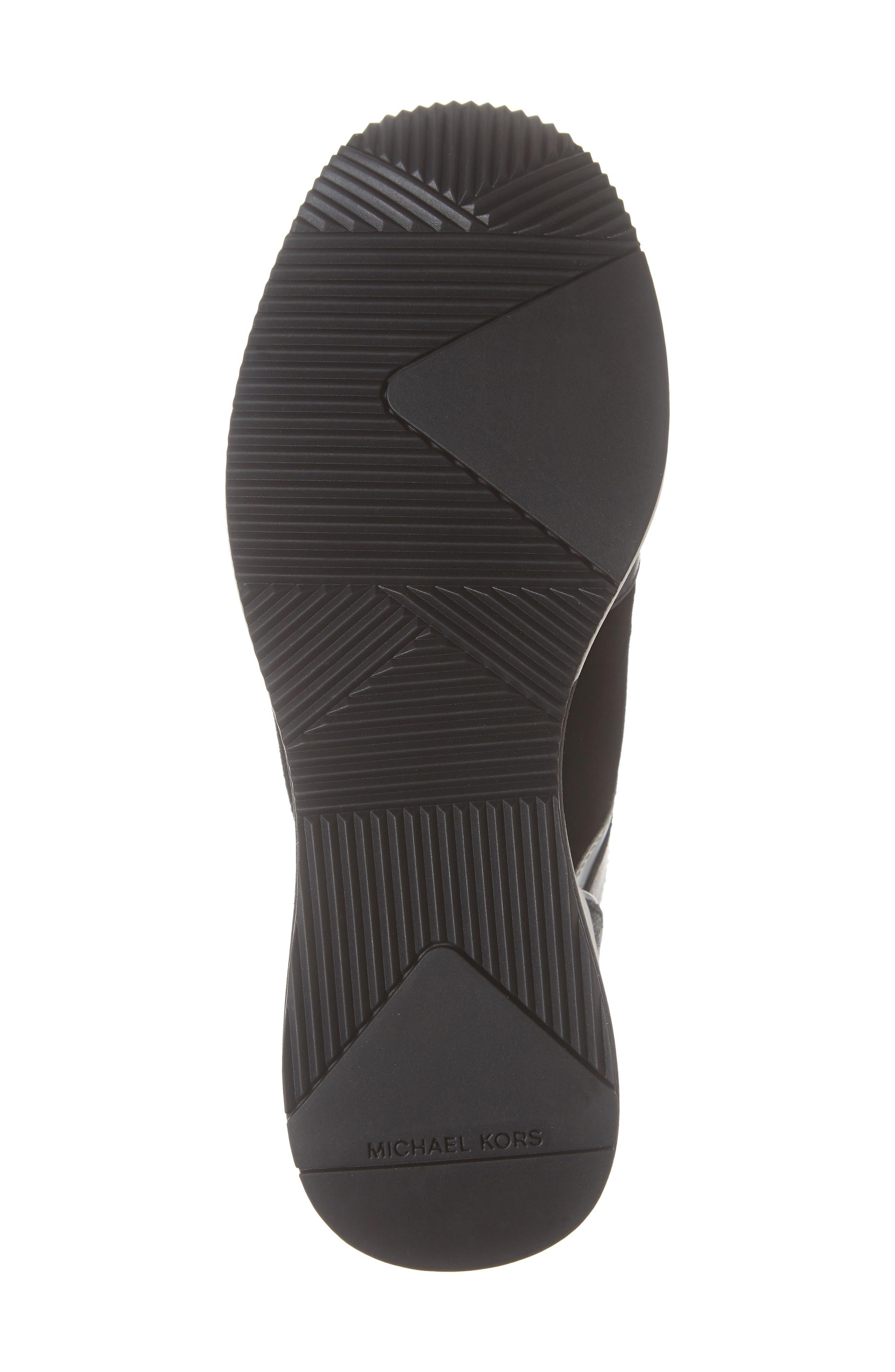 ,                             Georgie Wedge Sneaker,                             Alternate thumbnail 6, color,                             001