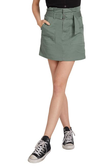 Image of Volcom Chickie Belted Skirt