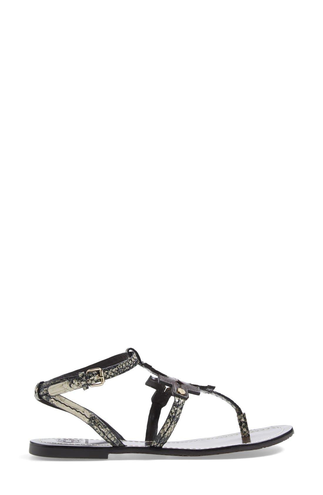 ,                             'Chandler' Leather Sandal,                             Alternate thumbnail 3, color,                             200