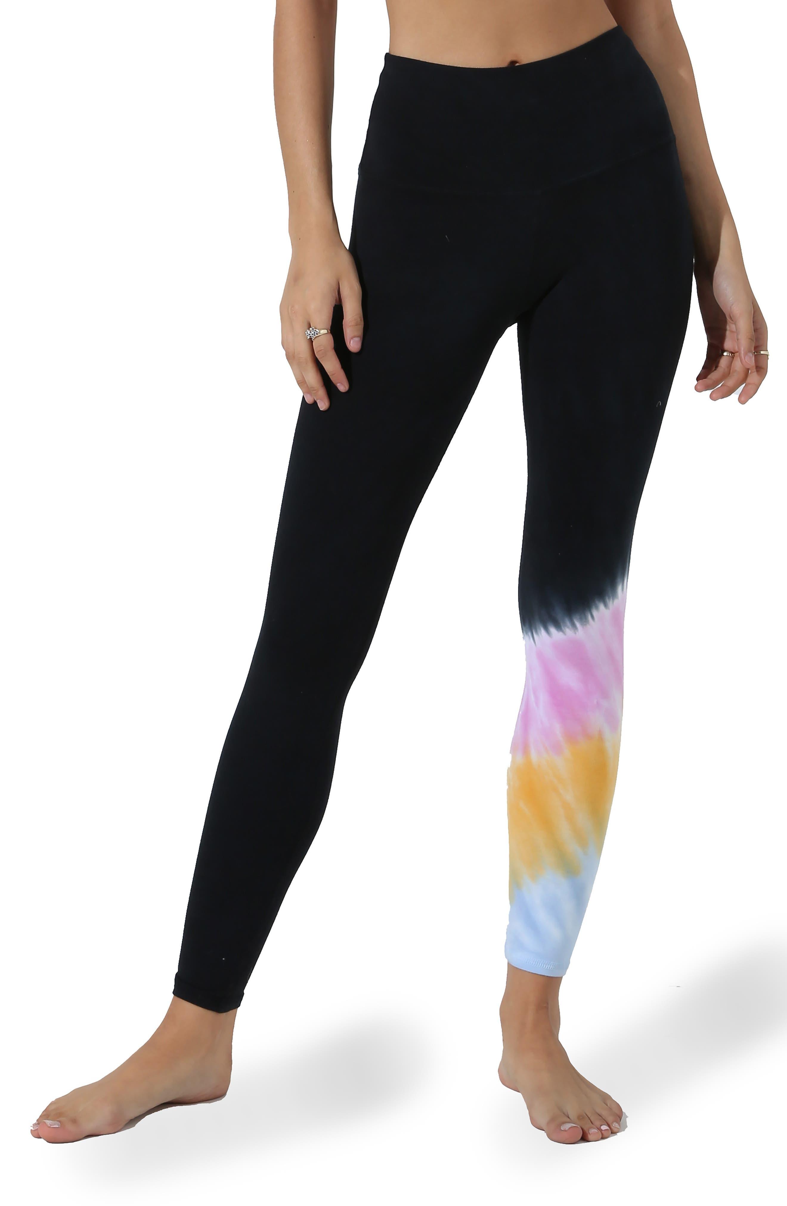 Tie Dye Sunset Leggings