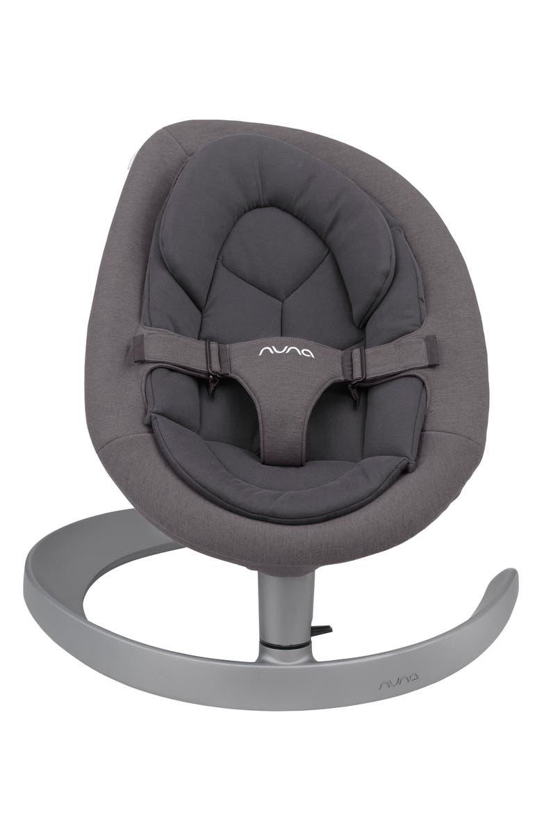 NUNA LEAF<sup>™</sup> Grow Baby Seat with Toy Bar, Main, color, IRON