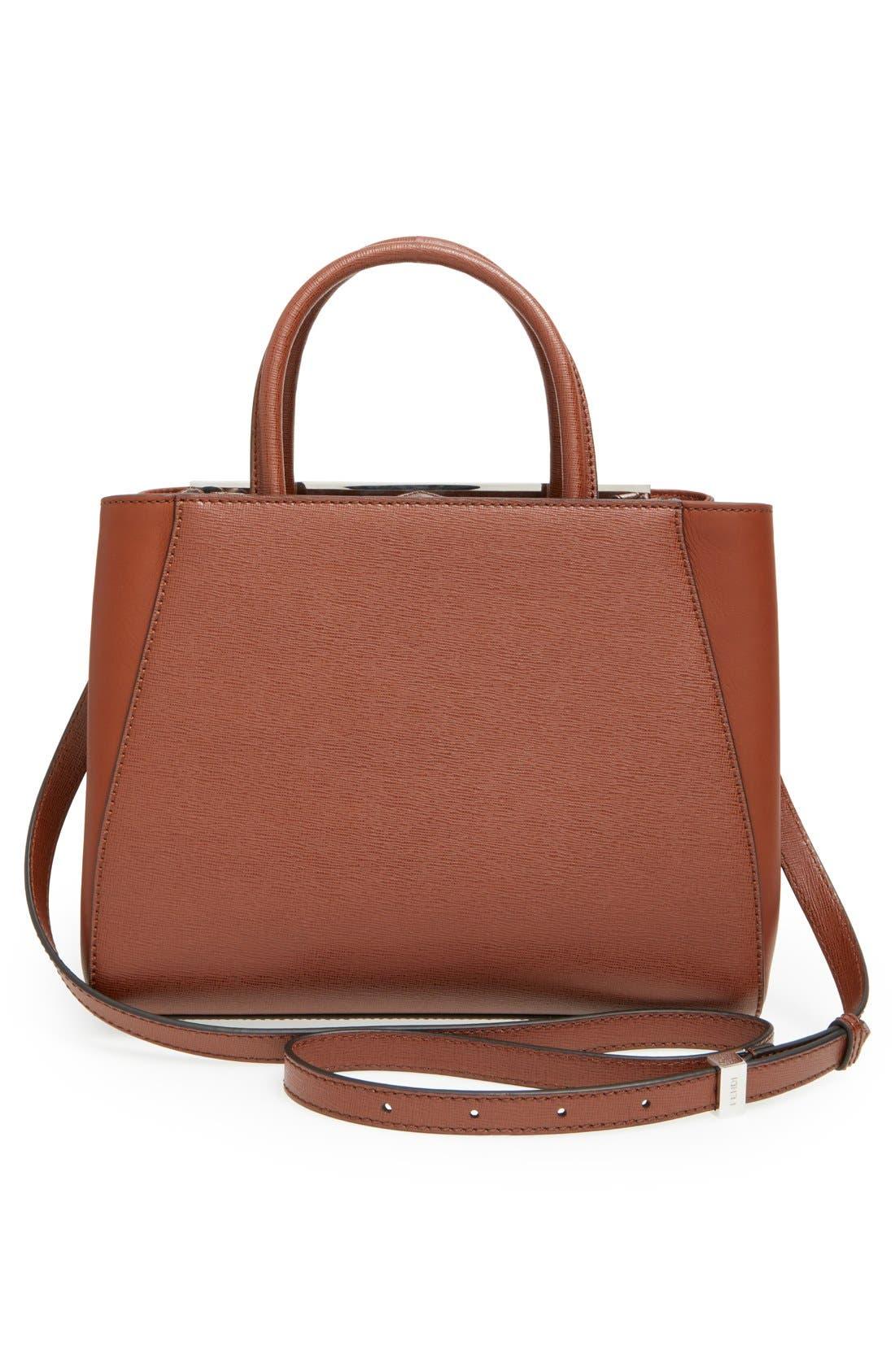 ,                             'Petite 2Jours Elite' Leather Shopper,                             Alternate thumbnail 122, color,                             951