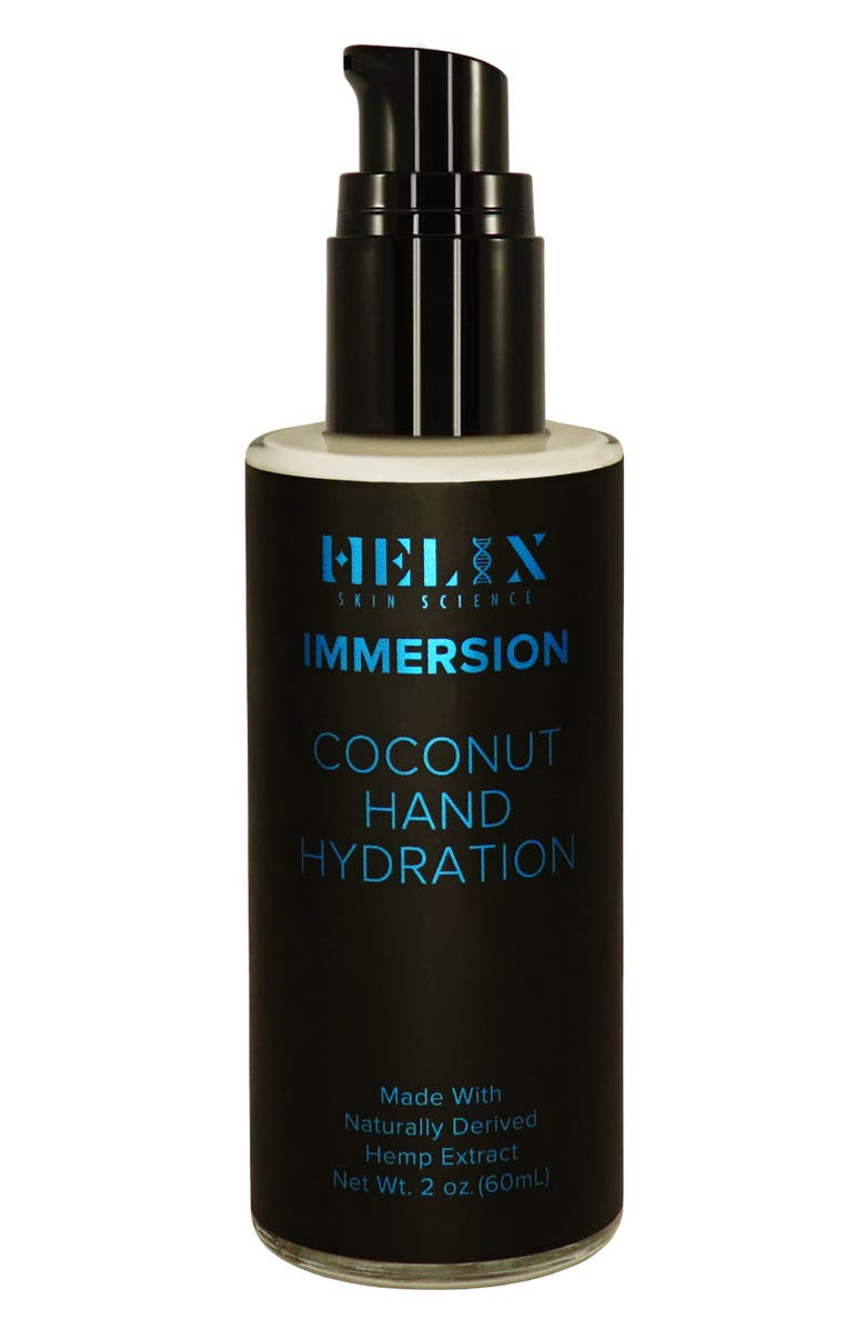 HELIX SKIN SCIENCE Immersion Coconut Hand Hydration with CBD, Main, color, NO COLOR