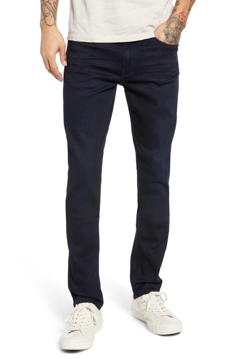 PAIGE Transcend - Croft Skinny Jeans, Main, color, DUMONT